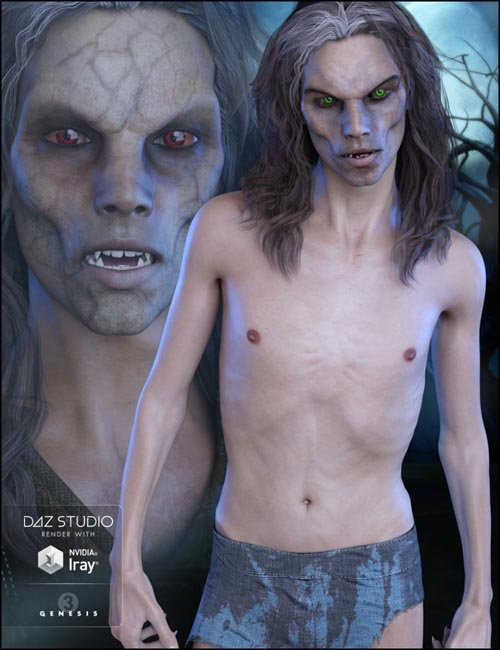 FWSA Lorcan HD for Genesis 3 Male(s)