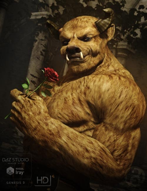 The Beast for Genesis 3 Male