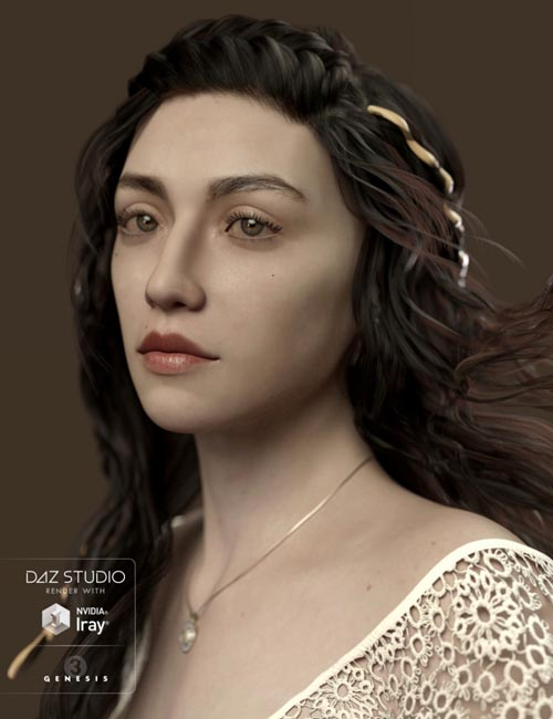 Ceridwen and Fantasy Skins for Genesis 3 Female
