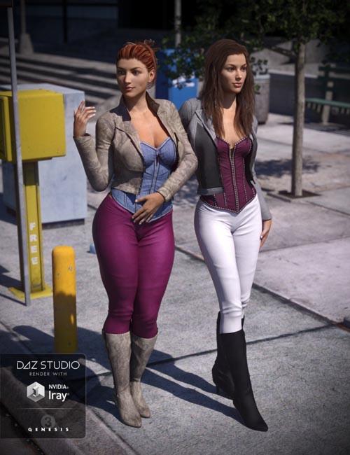 Vigilante Outfit Textures