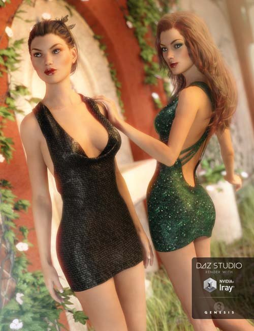 Little Black Dress Textures