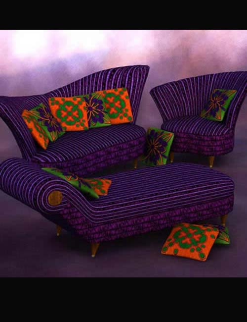 'Groovy' Upholstery for Deco Redux