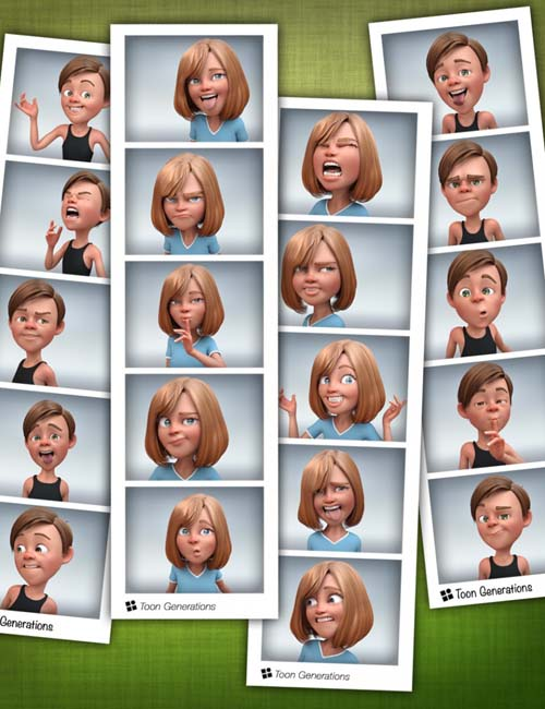 Toon Generations 2 Personalities Bundle