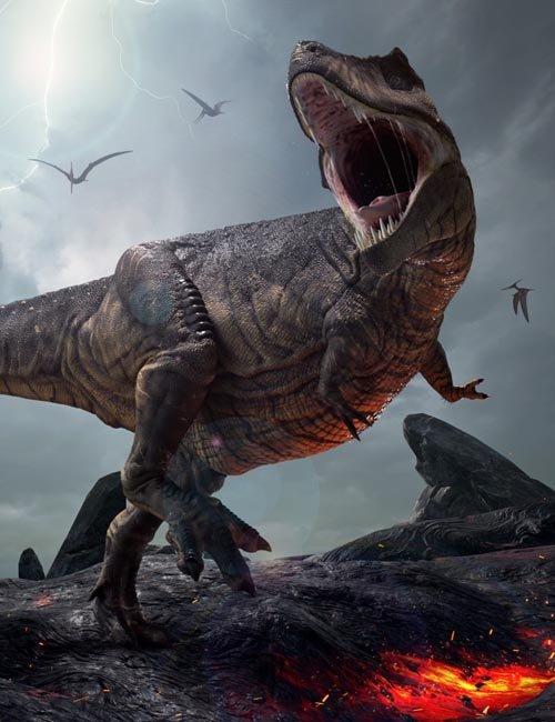 Tyrannosaurus Rex - Tyrant-Lizard King