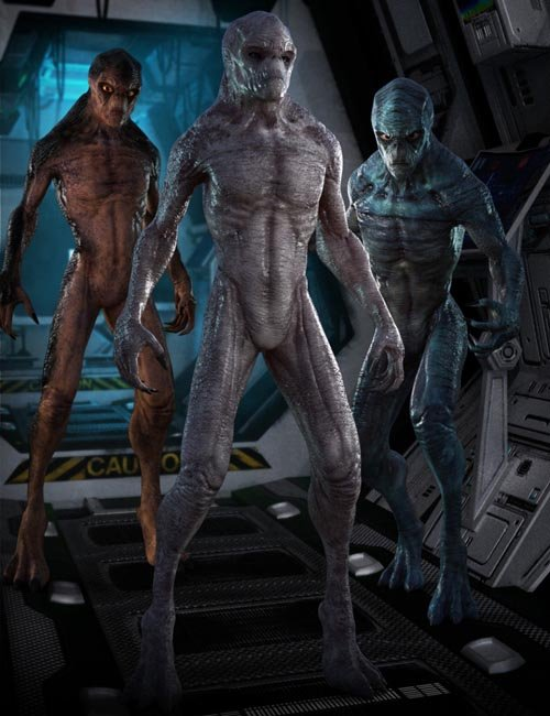 Invasion Textures for Alien-X