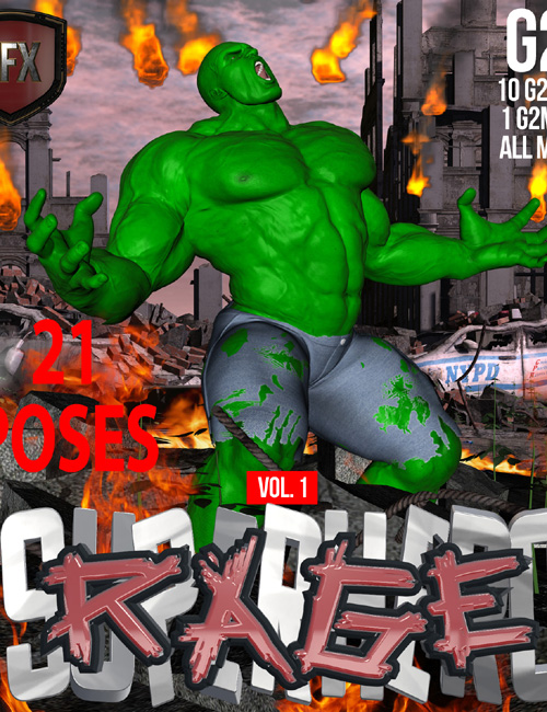 SuperHero Rage for G2M Volume 1
