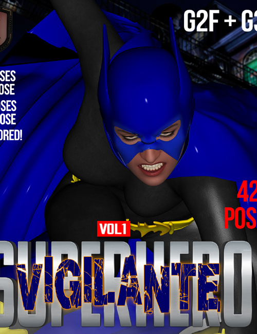 SuperHero Vigilante for G2F & G3F Volume 1