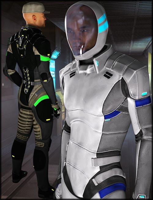 Interstellar Officer Textures