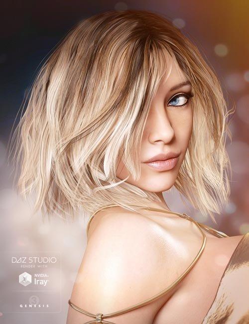 Misty Hair for Genesis 3 Female(s)