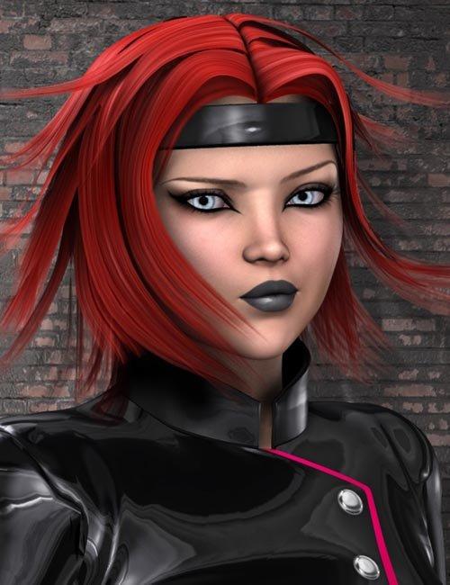 Night Slayers textures for Lieutenant Hair
