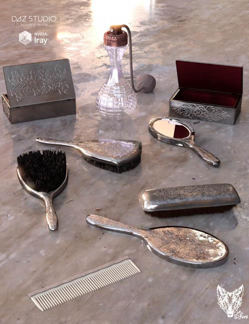 Vintage Vanity Accessories