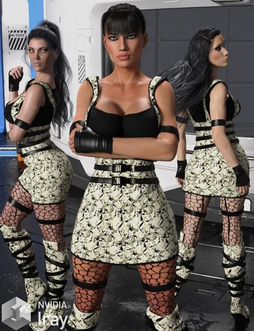 BLACKHAT for Swat for Genesis 3 Females