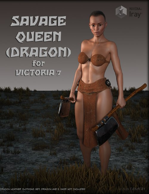 Savage Queen Dragon for Victoria 7