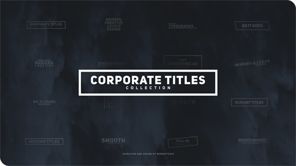 Corporate Titles Pack
