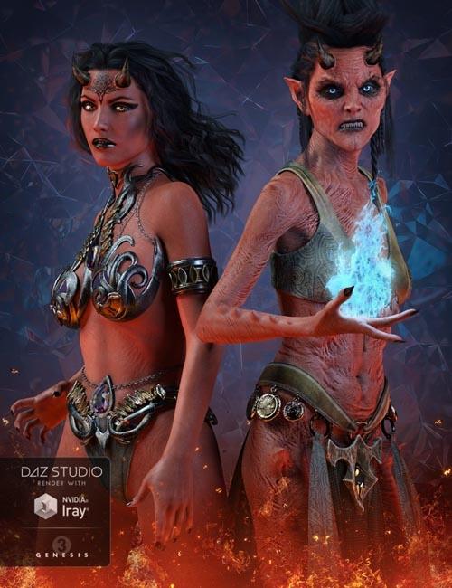 Anneka Demon for Genesis 3 Female(s)