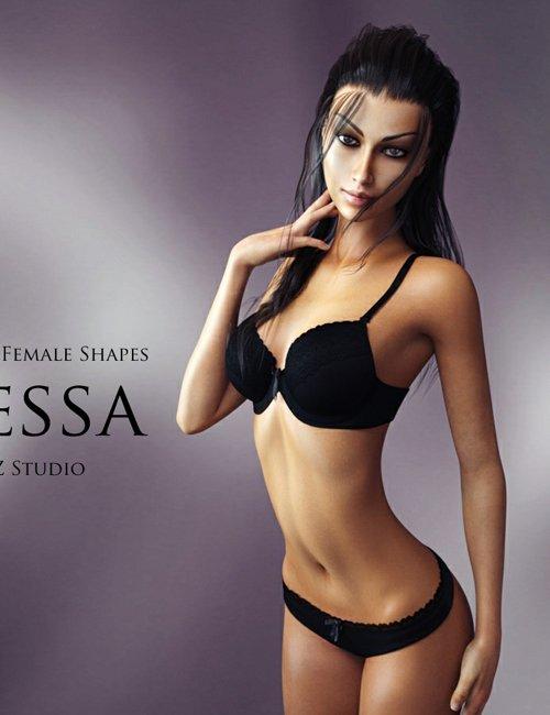 Genesis 3 Female Shapes: Nessa
