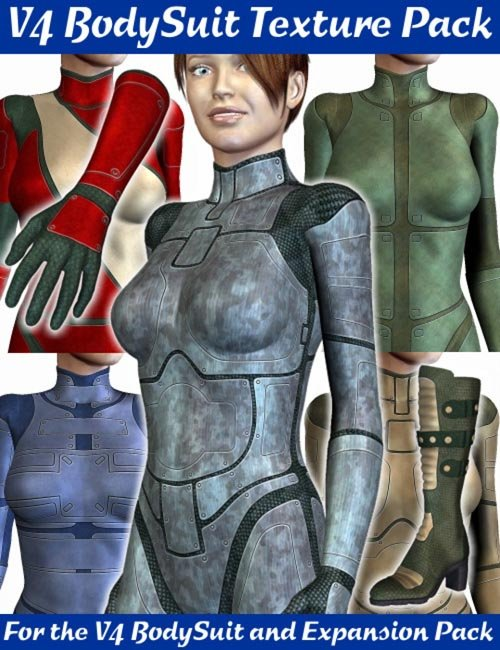 V4 Bodysuit & Expansion Pack Texture Set