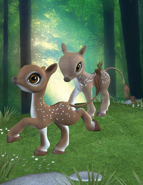 Legendary: Deer Babies