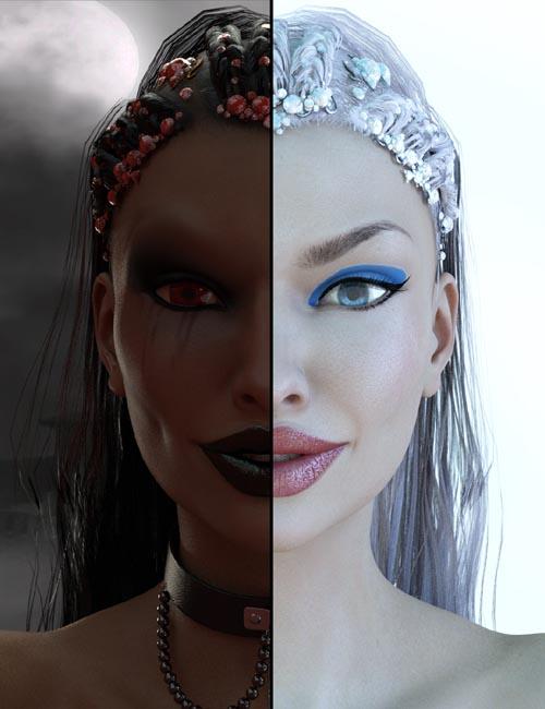Demons VS Angels - Head and Body Morphs for V7