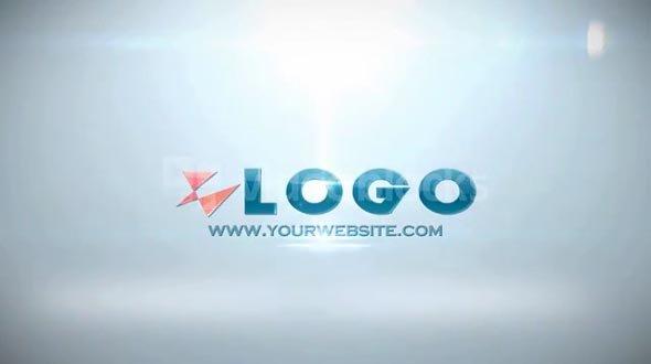 AE CS4 Template: Shattered logo