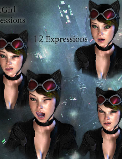 CatGirl Expressions
