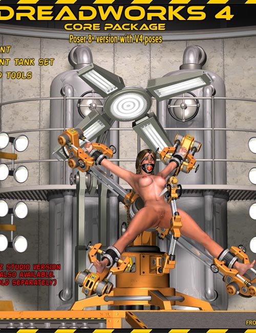 Dreadworks 4 Core Pack POSER VERSION