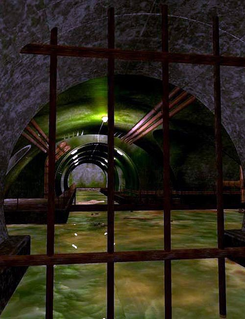 Slimy Sewers (Poser, VUE & OBJ)
