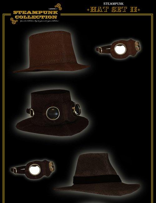 SteamPunk - Hat Set II