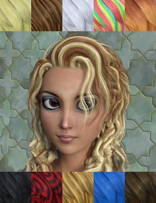 FSL Toon Hair Shaders Iray