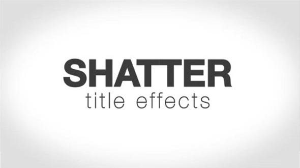 AE CS5 Template: Cracked Titles