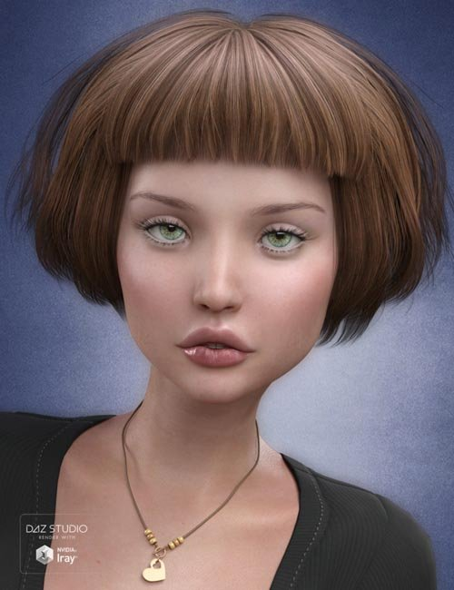 Charlotte Hair for Genesis 3 Female(s)