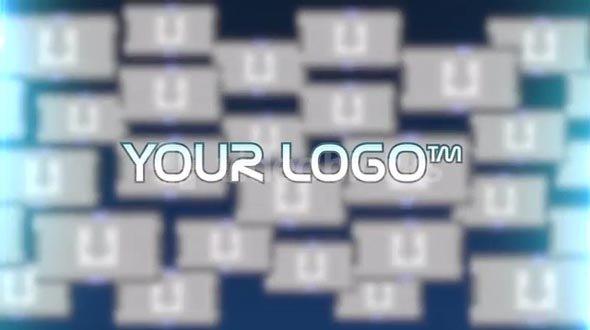 Motion 5 Template: Digital Logo