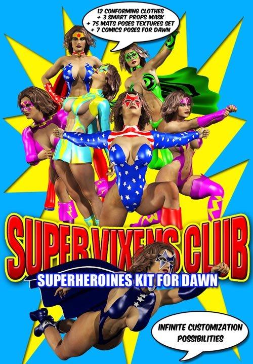 Dawn Super Vixens Club