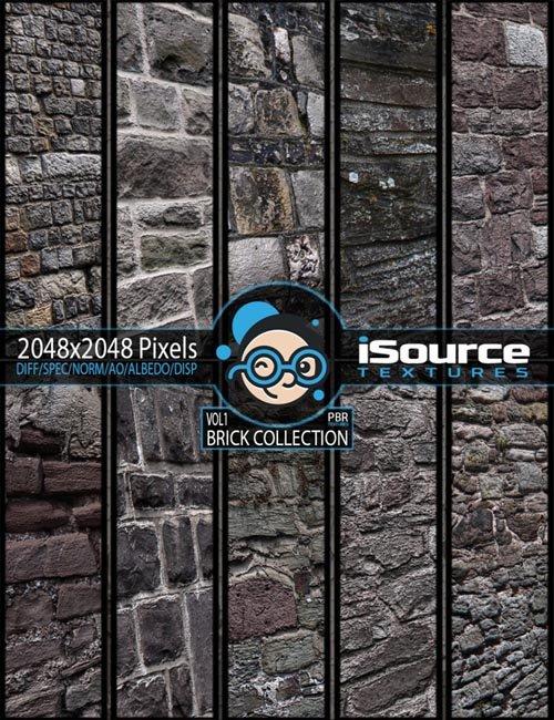 Brick Collection Merchant Resource - Vol1 (PBR Textures)