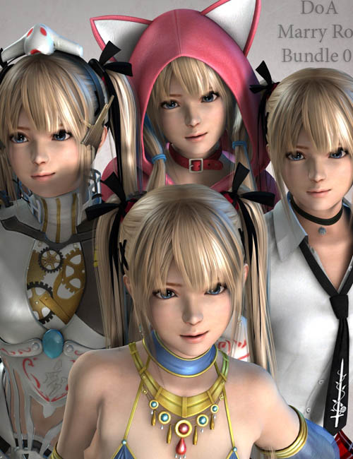 DoA MarryRose Bundle 02