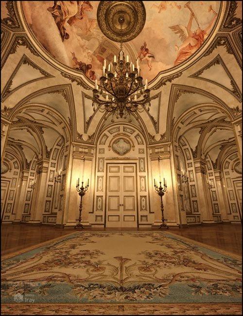 Extravagance for Baroque Grandeur Iray Addon