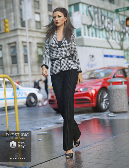 New York Essence Fashion Outfit for Genesis 3 Female(s)