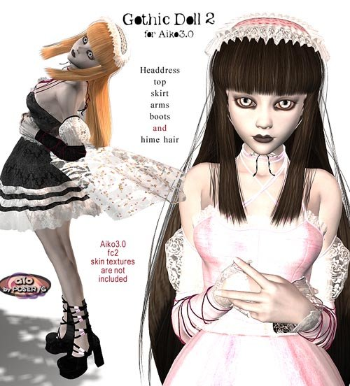 Gothic Doll2 for Aiko3.0