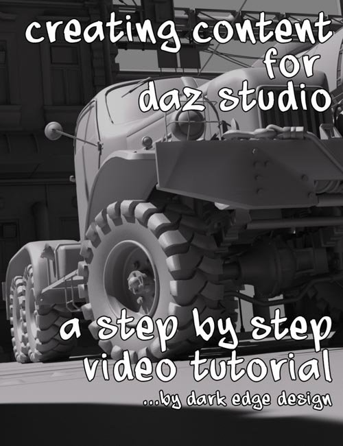 Creating Content for Daz Studio