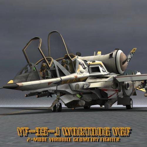 YF-35 Warthog VGF (for Poser)