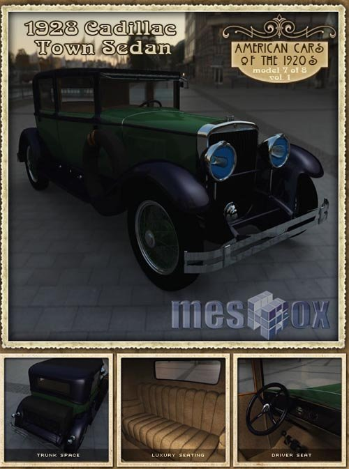1928 Cadillac Town Sedan R2