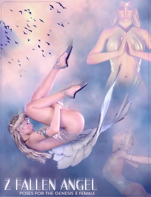 Z Fallen Angel - Poses for the Genesis 3 Female(s)
