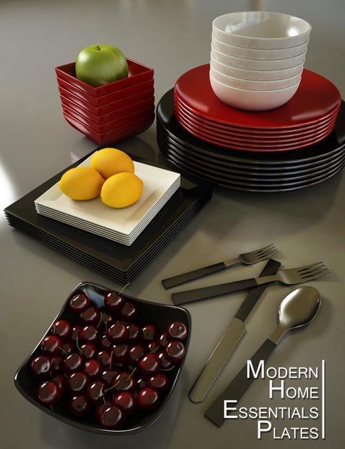 MHE: Plates [ iray update ]