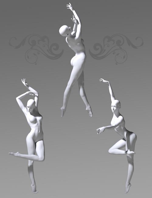 Modern Dance Poses for Genesis 3 Female