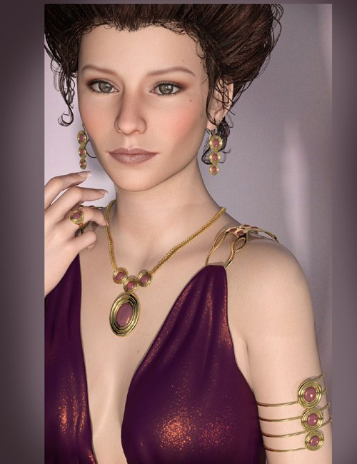 Drusilla Jewels for Genesis 3 Female