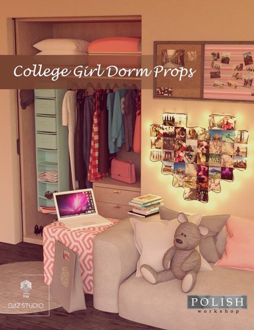 College Girl Dorm Props