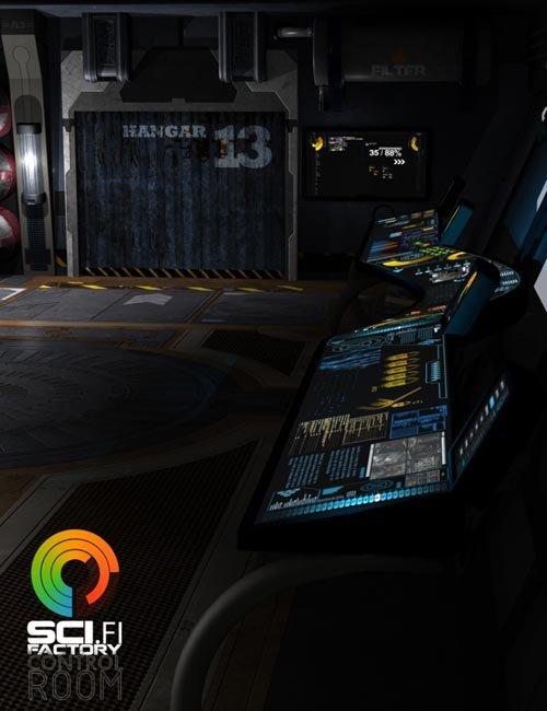 Sci-Fi Factory - Control Room