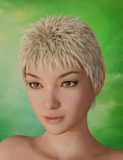 Magno Hair for Genesis 3 Female(s) and Genesis 3 Male(s)