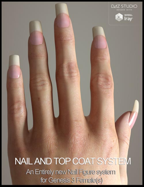Nail System for Genesis 3 Female(s)