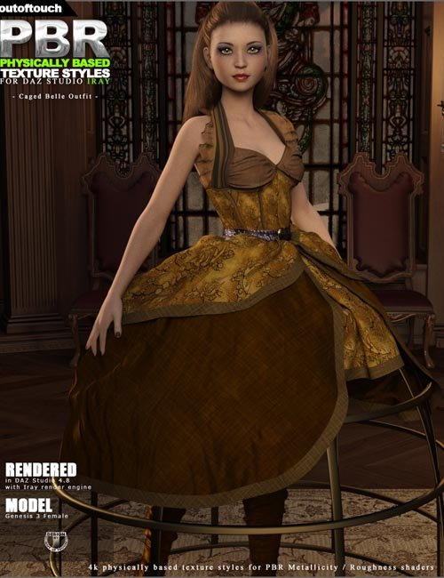 OOT PBR Texture Styles for Caged Belle